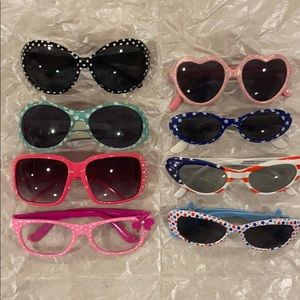 Little Girls Sunglasses, and 1 pair clear lenses.